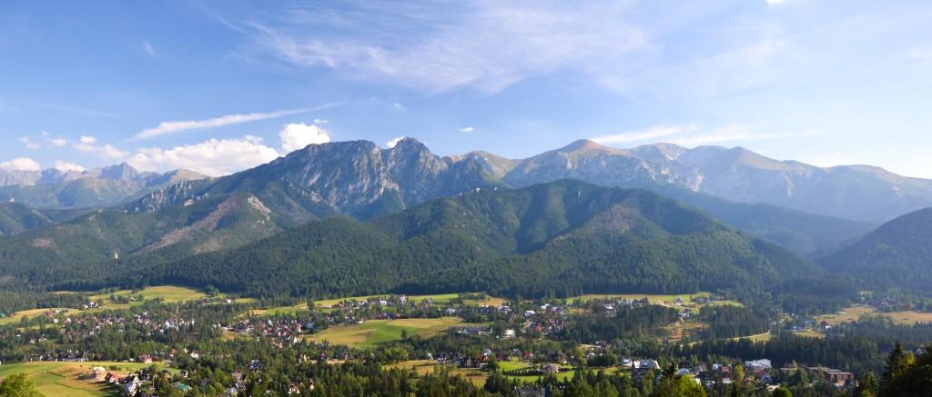 Tatry Giewont panorama